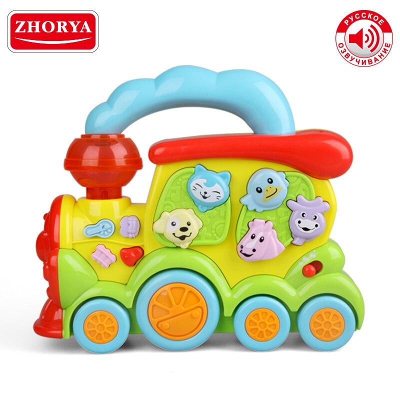 Zhorya apprentissage et éducation Machine d'apprentissage éducatif précoce avec musique vocale russe et Puzzle léger jouets pour cadeaux bébé garçon fille