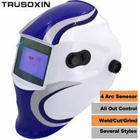 Solar Auto Darkening Welding Helmet Welding Mask Protect Mask Eye Glasses Shading Goggles For The TIG