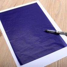 32K двухсторонний углеродный копировальный трафарет, переводная бумага, канцелярские принадлежности, тонкий тип, канцелярские бумажные расходные материалы