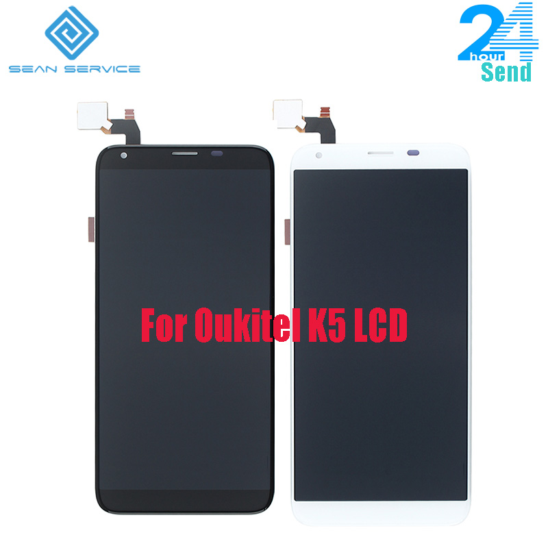 For 100% Original Oukitel K5 LCD Display+Touch Screen Assembly Tested LCD Digitizer Glass Panel Replacement For Oukitel K5 StockFor 100% Original Oukitel K5 LCD Display+Touch Screen Assembly Tested LCD Digitizer Glass Panel Replacement For Oukitel K5 Stock