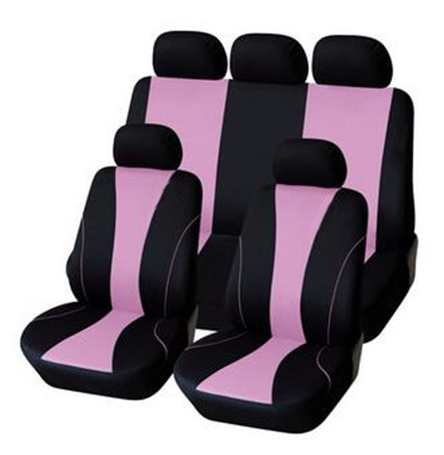 Free Shipping Car Seat Covers Universal Polyester With Composite Sponge Styling Cases