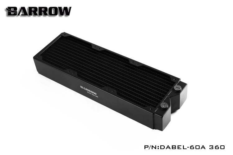 Barrow Dabel 60a Dabel 360mm 60mm Height Copper Radiator Water Cooling