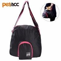 Petacc Black Pet Purse Carrier Pet Pocket Carrier Pet Sling Carrier Bag