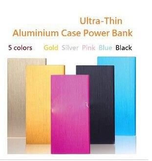 imágenes para 0.9mm color de super ultrafino libro portátil 8000 mah banco móvil de la energía 10000 mah paquete externo de la batería para el iphone para samsung