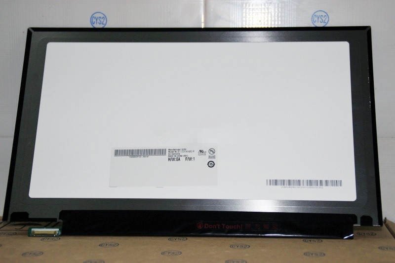 Quying NEW Original 13.3 Inch LCD Screen B133HAN03.0 Display FOR  Acer 1920x1080 EDP  30PIN new original black full lcd display
