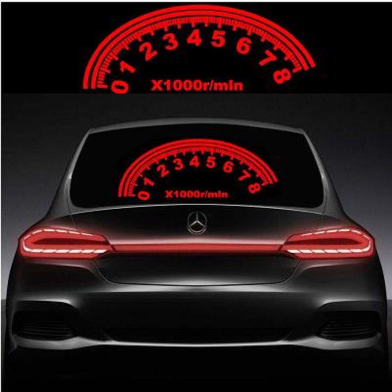 for car rear glass LED Sound Activated Equalizer Car Neon EL Light Music Rhythm Flash Lamp Sticker Styling With Control Box in Signal Lamp from Automobiles Motorcycles