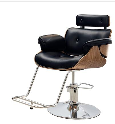 Hair Salon Barbershop Chair Hairdressing Chair Hairdressing Chair Hairdressing Chair Haircutting Chair Can Rise And Fall Rotate