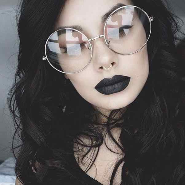 6fc8633792 Detail Feedback Questions about Oversized Clear Round Glasses Silver Metal  Frame Vintage Sexy Circle Glasses Brand Designer Huge Big Nerd Eyeglasses  Women ...
