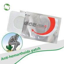10 Uds yeso Anti hemorroides original chino almohadilla analgésica externo fisura Anal pyogenic parche para calmar el dolor