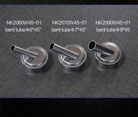 3pcs Original Air Gun Head For Microscope A8 A9 CPU Blade Fly Line 45 Degrees Air