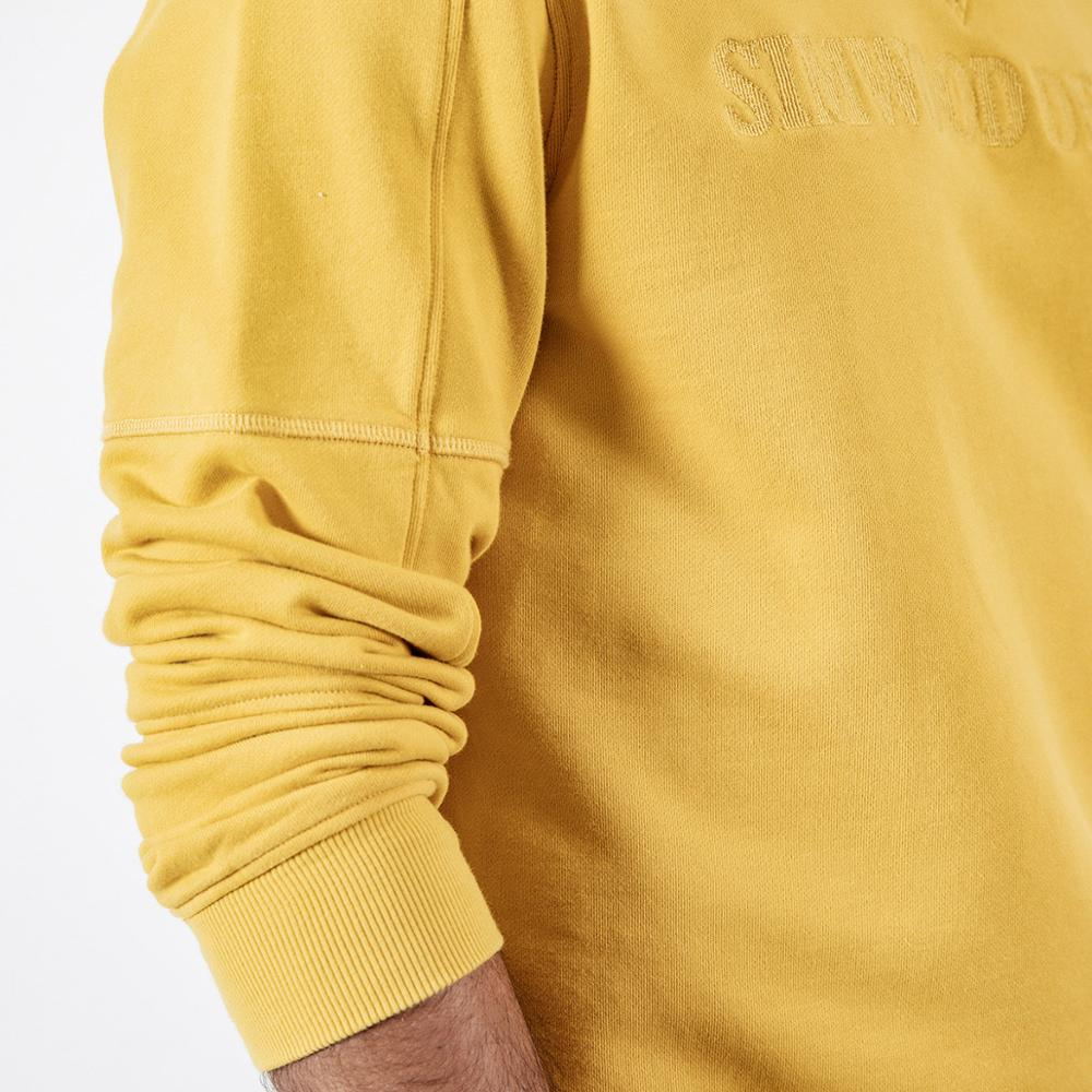 Image 3 - SIMWOOD spring New Hoodies Men Embroidery Letter Sweatshirt Male O  neck High Quality Brand Clothing 190121Hoodies