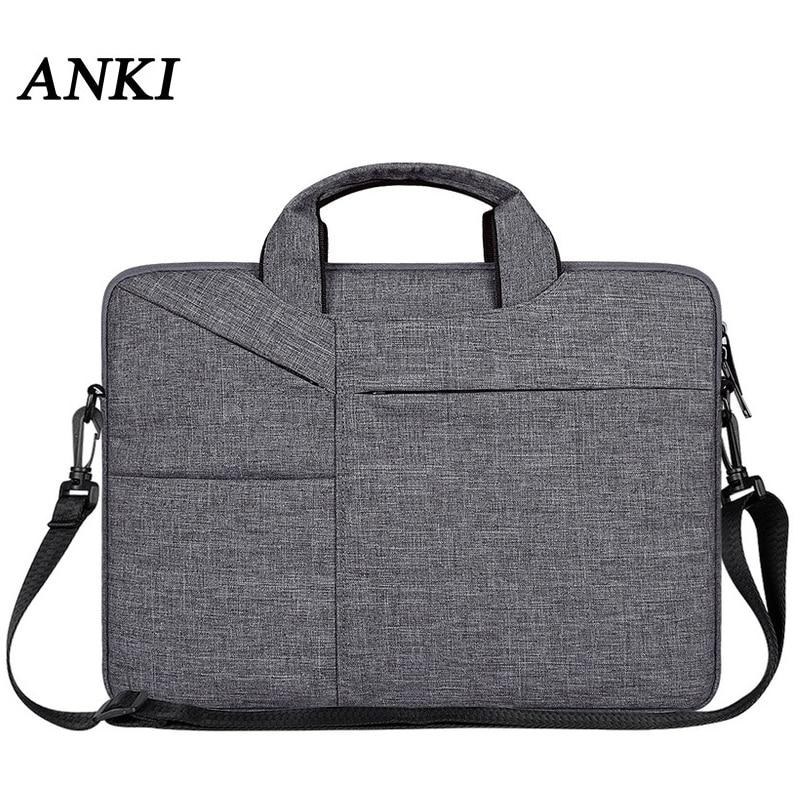 Handbag Shoulder Bags For Macbook Retina 13 15 Laptop Bag 14 Notebook Case For Xiaomi Air 12.5 13.3 15.6 Surface Pro 4 5 6 Cover|Laptop Bags & Cases| |  - title=
