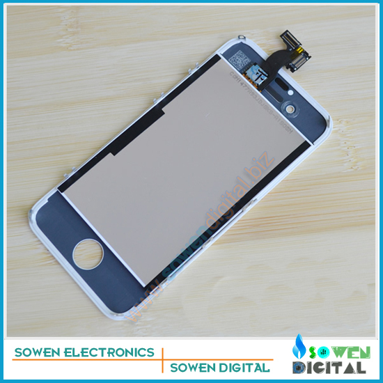 ФОТО For iPhone 4s LCD Display+Touch Screen digitizer+Frame+camera holder+earphone dust cover+ small parts full sets