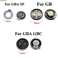ChengHaoRan 50 sztuk Audio głośniejszy głośnik głośny głośnik zamiennik dla konsoli Nintendo Gameboy Advance SP dla GB GBA SP głośnik