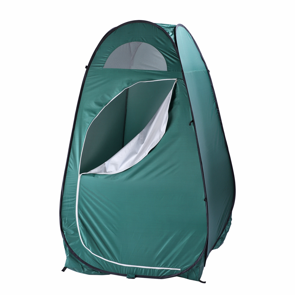 Outdoor Portable Green Pop Up Privacy Toilet Shower Tent Camping Changing Room