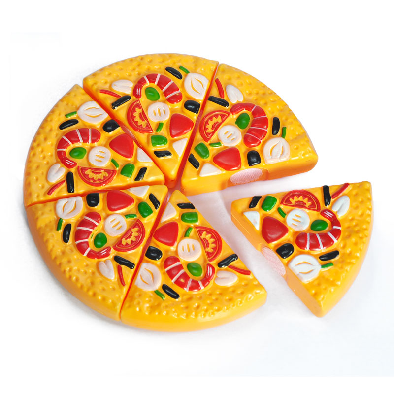 Super 6Pcs Pack Pizza Cake Fast Food Safe Simulation Plastic Kitchen Birthday Cards Printable Giouspongecafe Filternl