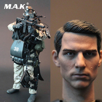M002 1/6 Scale Male Military Soldiers U.S.NAVY SEAL UDT Seal Team Head Body Clothes Weapon Full Set Collection Action Figure