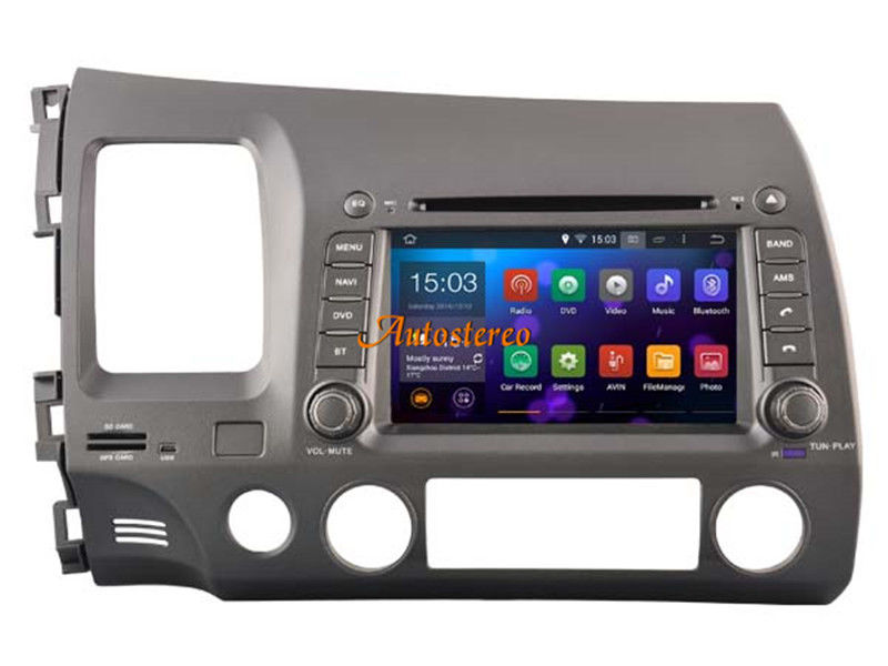 Octa Core Android 8 Car Head Unit car DVD player For Honda Civic 2006 2011 Autoradio