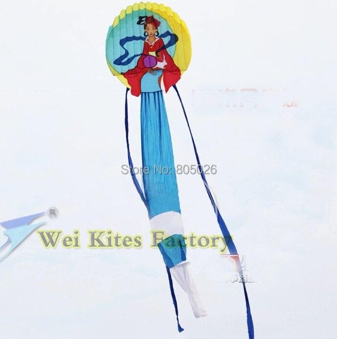 Livraison gratuite haute qualité 12 m chinois traditionnel princesse doux cerfs-volants grand cerf-volant jouets chinois dragon cerf-volant chaîne weikite