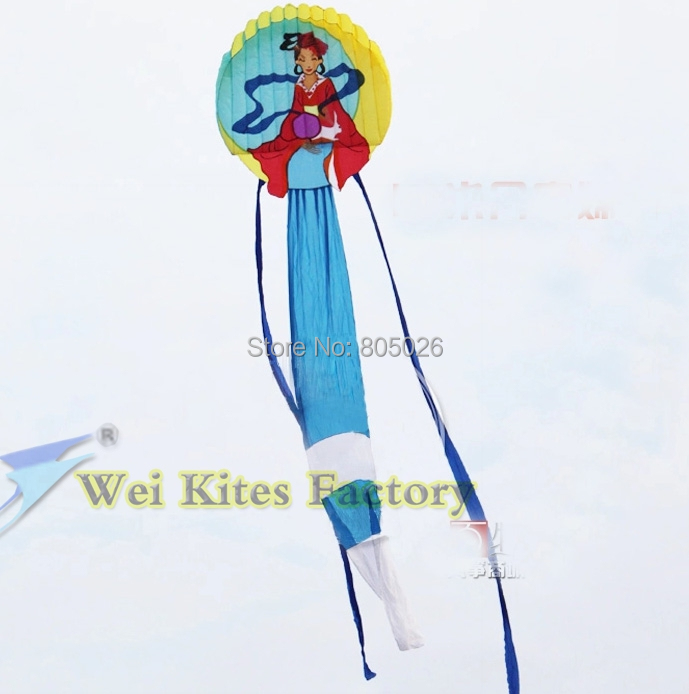free shipping high quality 12m Chinese traditional princess soft kites large kite flying toys chinese dragon kite string weikite free shipping high quality 7m chinses traditional dragon kite chinese kite design decoration kite wei kite factory weifang toys