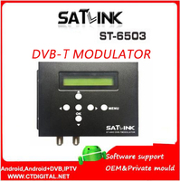 Satlink ST 6503 DVB T модулятор Route DVB T модулятор AV маршрутизатор DM модулятор DVB T AV HD цифровой модулятор rf