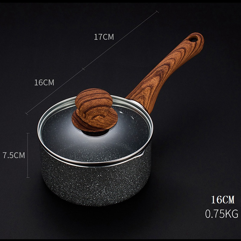 Maifan Stone Non-Stick Noodle Soup Milk Pan 4