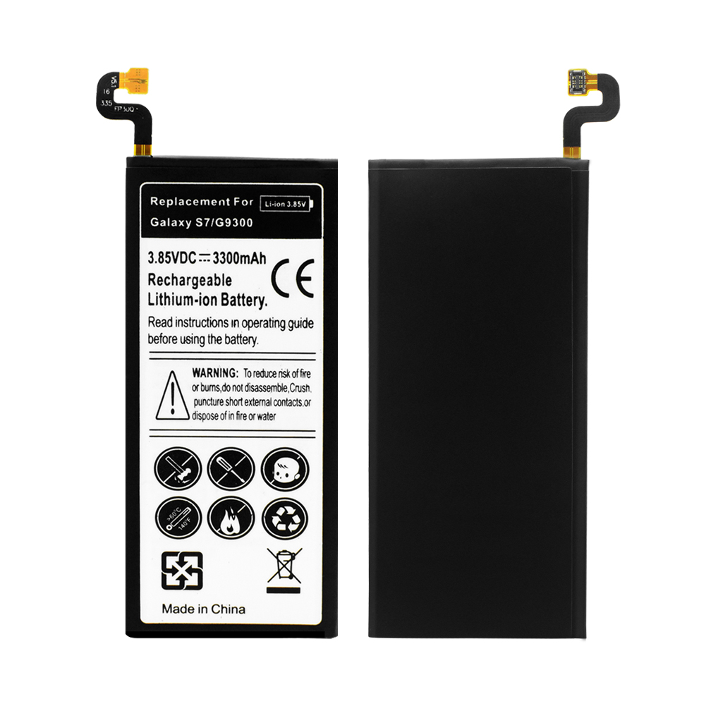 2019 Lithium YCDC Replacement Phone Battery For Samsung Galaxy S7 G9300 G930F G930 Genuine Rechargeable Phone Batteries 3300mAh in Mobile Phone Batteries from Cellphones Telecommunications