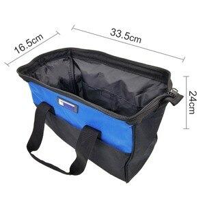 Image 3 - حقيبة أدوات مقاوم للماء حقيبة أدوات متعددة الوظائف وجع مفك كماشة الأجهزة المعدنية خزانة قطع أكياس الحقيبة الحقيبة PROSTORMER