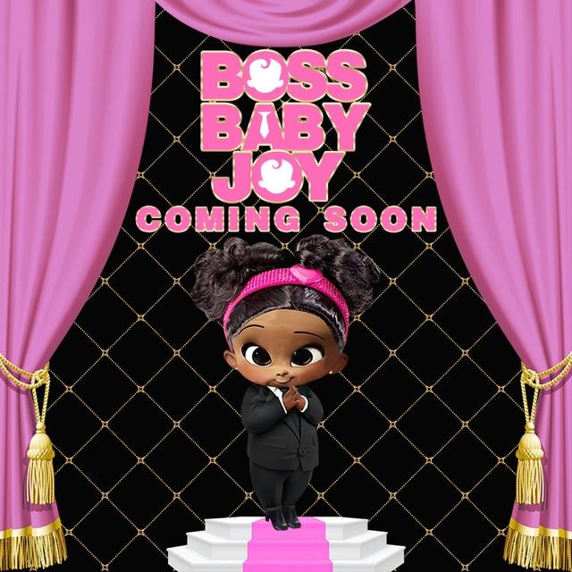 Custom Boss Baby Girl Happy Birthday Baby Child Photo