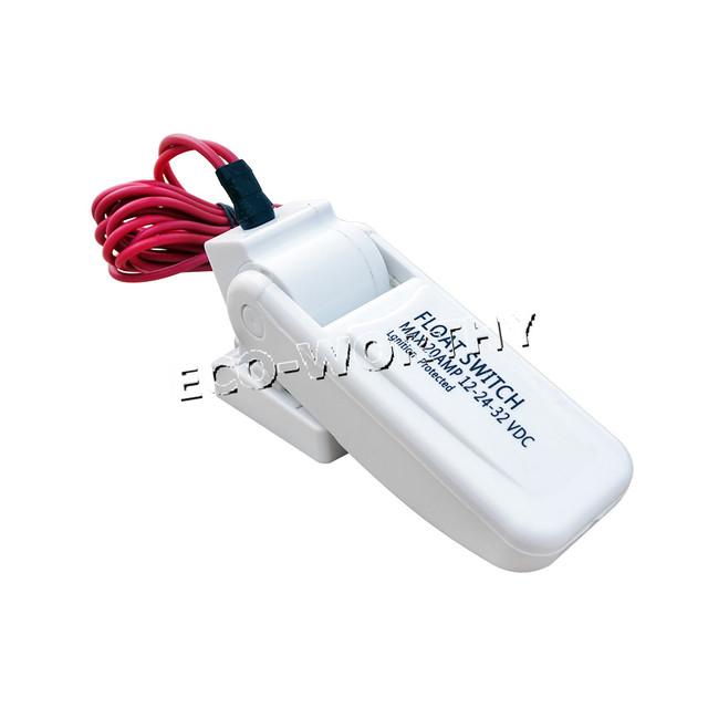 12V Float Switch Schwimmerschalter for Bilge Pump Marine Boat Water Pump