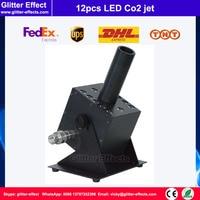 12pcs LED beads Co2 jet DJ stage show equipment Special Effect Disco night club bar LED Co2 fog machine