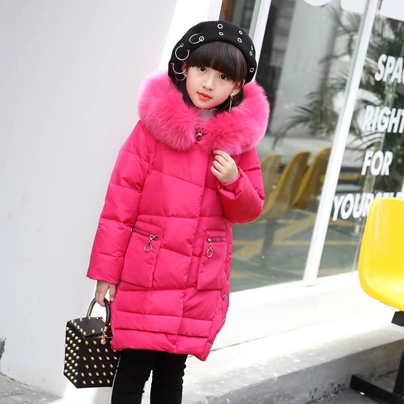 OLEKID 2017 Children Winter Jacket For Girls Hooded Thick Warm Long Girls Winter Down Jacket 5-11 Years Kids Outerwear Coat гарнитура marley smile jamaica rasta em je041 ra