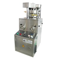 Stainless Steel Rotary Pill Press Tablet Press Machine ZP 9D Safety Sealing And Dust Proof System
