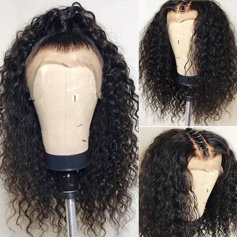UEENLY Wig Lace-Front-Wigs Human-Hair Deep-Wave Pre-Plucked Brazilian 360 with Baby