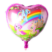 Unicorn balloon Party decorations kids Wedding Decoration globos shower party Supplies balloons Birthday balloon(China)