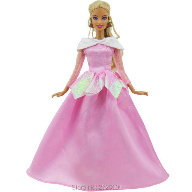 373aac66019ed Conte de fées copie belle au bois dormant princesse Aurora rose robe de  soie tenue robe