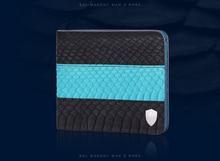 100%  Genuine/Real python skin leather bifold  wallets purse  Men/Women, Luxury quality men wallet +Free shipping