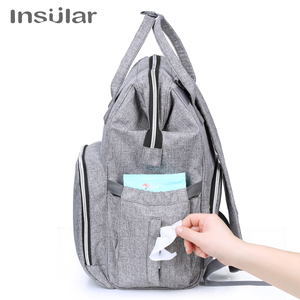 Image 3 - New Large Capacity Mummy Maternity Nappy Bag Baby Changing Backpack Diaper Bag Organizer For Mother Mom Multi Function Bolsa