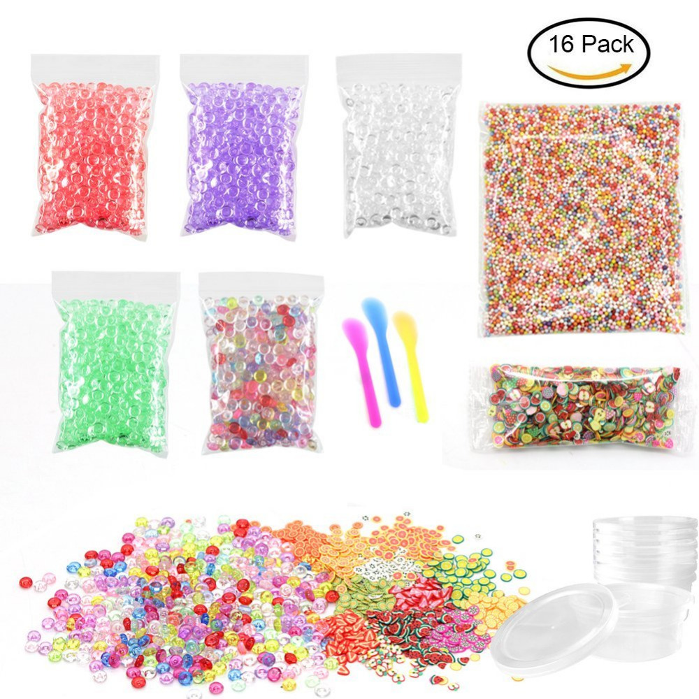 Modeling Clay Friendly Diy Fishbowl Beads Glitter For Slime,2000pcs Colourful Foam Balls For Slime 1000pcs Fruit Face Decorations 5 Pack Fishbowl Beads Buy Now