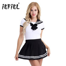 4d833b31dc96 Womens Adult Baby Diaper Lover School Girls Snap Crotch Romper with Mini  Pleated Skirt Bodycon Clubwear