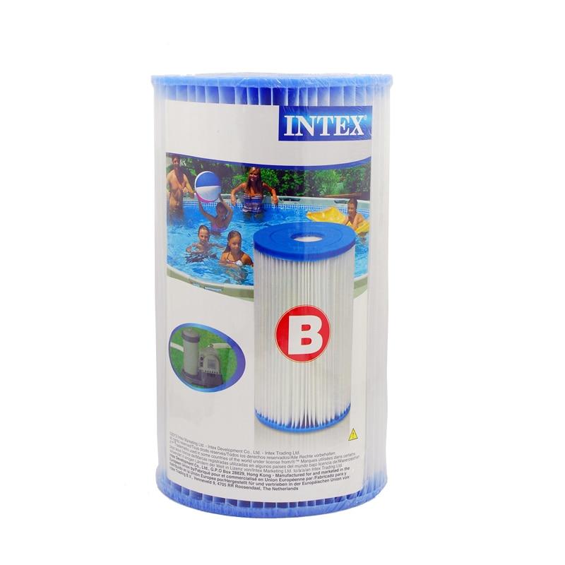 Intex Water Filter Cartridge for Pool Type B 29005 o2 spas rising dragon escape c50 pool filter cartridge element 345x125mm