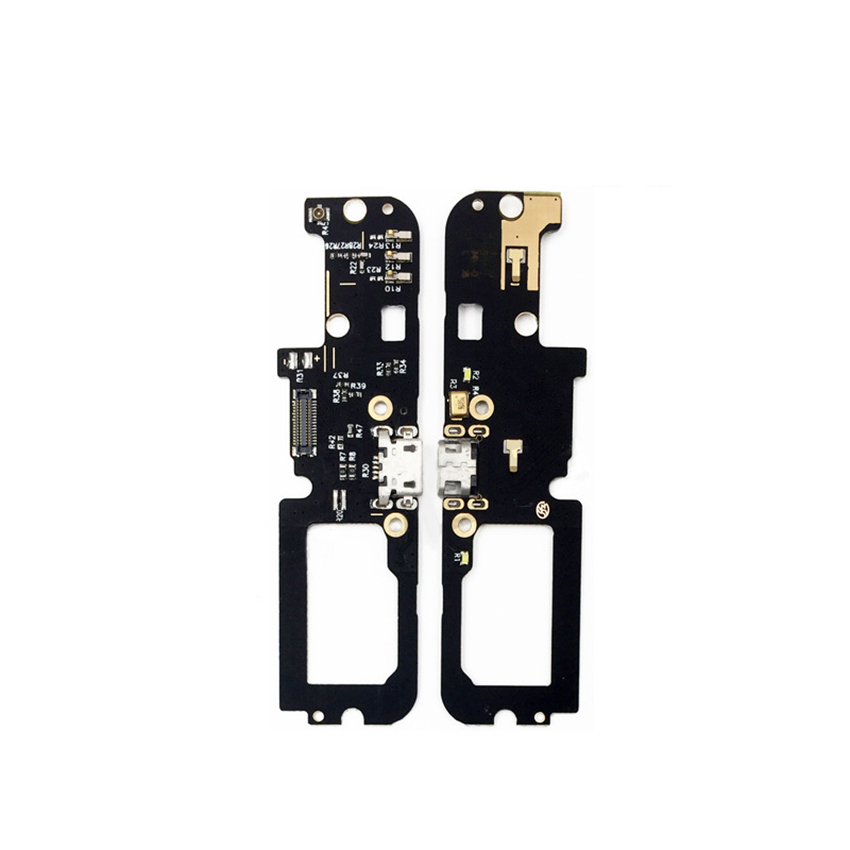 New USB Charger Connector Plug Board For Lenovo K5 Note Charging Dock Port Flex Eibbon Cable With Microphone