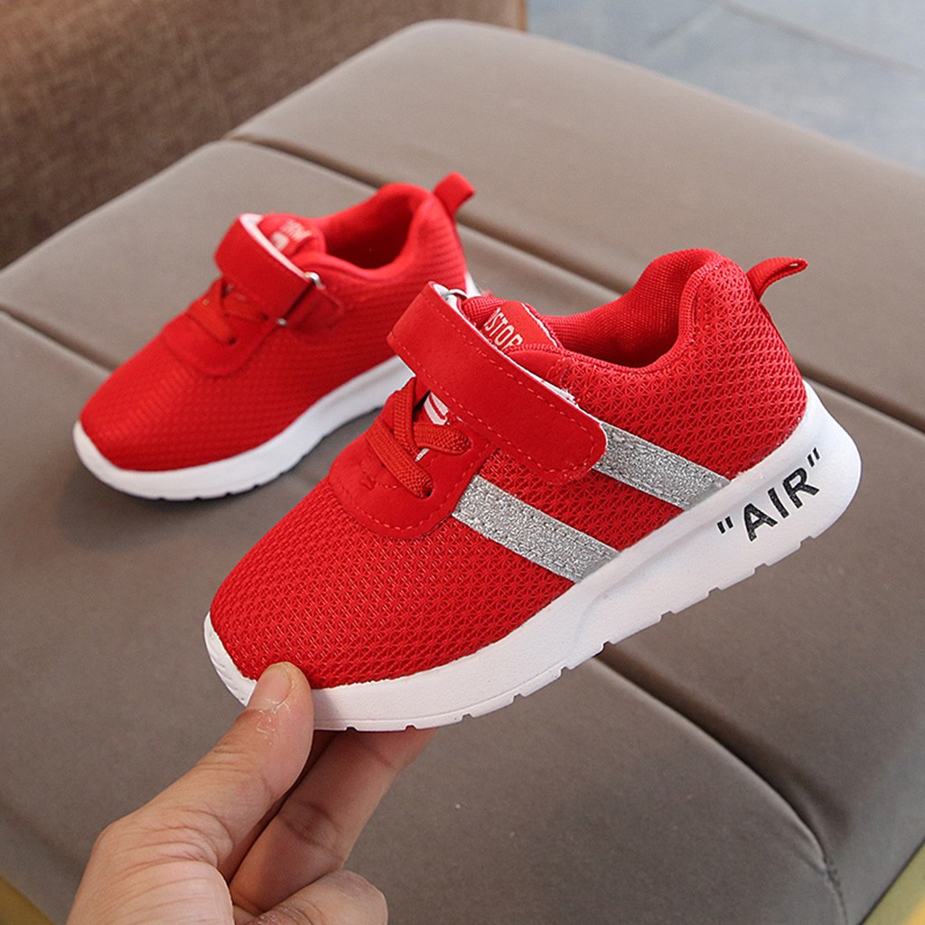 Kids Boys Girls Child Sports Running Shoe Baby Infant Toddler Casual Shoes