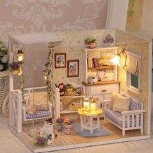 Cutebee diy кукольный домик деревянные кукольные домики миниатюрный