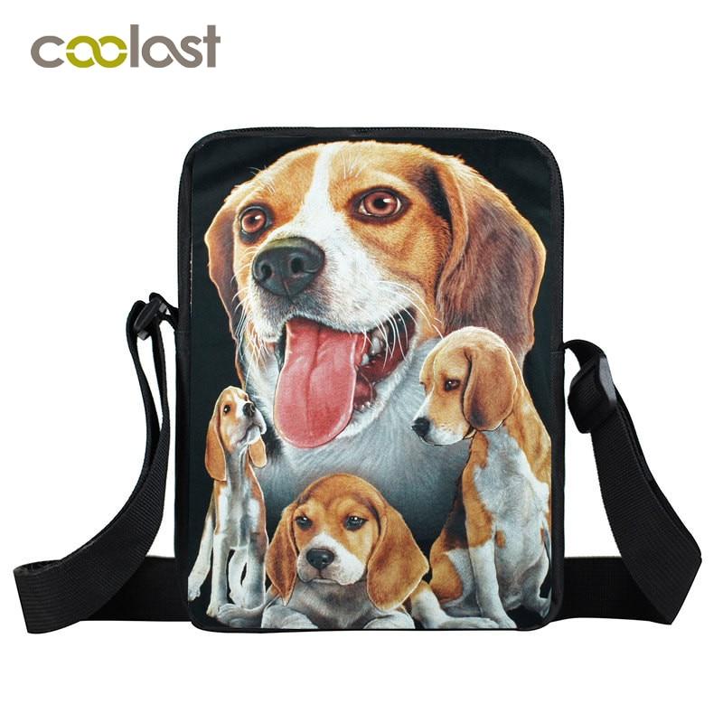 German Shepherd / Beagle / Siberian Husky Small Crossbody Bag for Women Handbag Hot Clutch Boxer Children School Bags Kids Gift