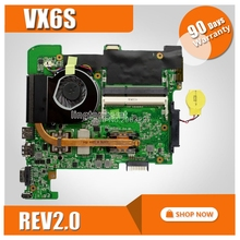 Eee PC VX6S For Asus laptop motherboard vx6s rev 2 0 mainboard 2gb ram fully tested