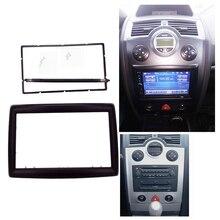 2 адаптер типа din CD обшивка панели стереоинтерфейс радио автомобиля рамка панель Фризовая подходит для RENAULT Megane II 2003-2009, 2Din/2 din