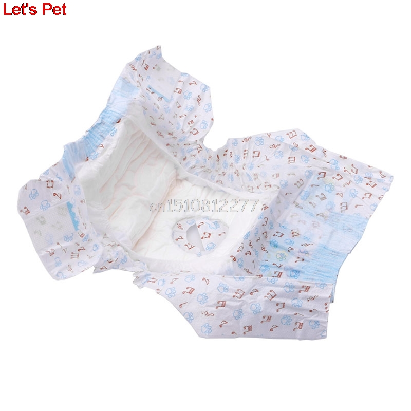 Nice 1pack/10pcs Disposable Physiological Shorts For Pet Dog Sanitary Cotton Nappy Shorts Diapers cheap online clothing store