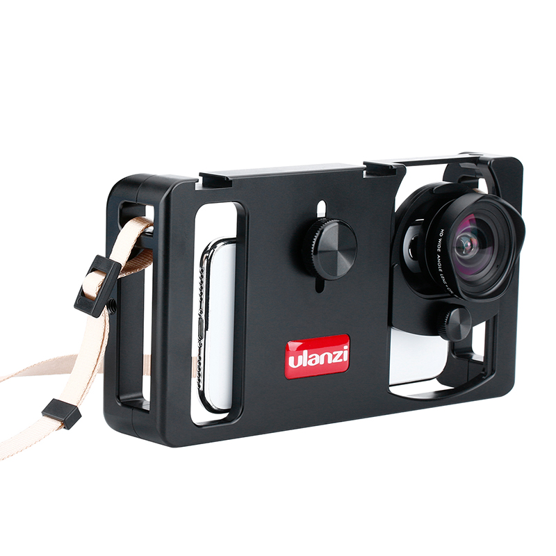 Image 2 - Ulanzi U Rig Metal Handheld Photo Phone Video Rig Gear Vlogging  Rig Stabilizer with Wide Angle Mobile Lens Film Making CasePhoto Studio  Accessories