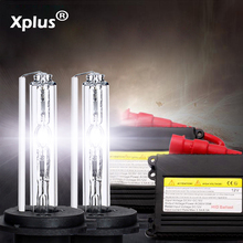 Xplus 55W35W HID Xenon комплект Тонкий Балласт H1 H3 H4 H8 H7 H11 9005 9006 880/1 теплый белый ксеноновая лампа желтый синий для автомобильных фар